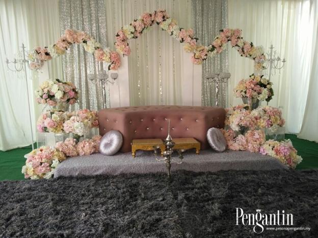 Ikut Tip Reka Pelamin Untuk Majlis Pertunangan, Gerenti Menarik!