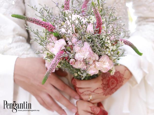 Bunga Tangan Penyeri Majlis Raikan Cinta