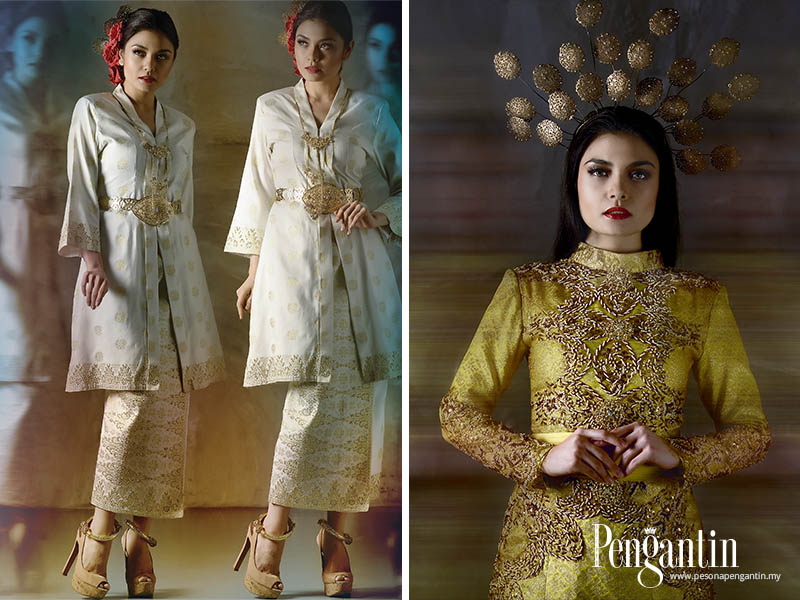 Fesyen Songket Tradisional Nyata Tidak Pernah Lapuk Dalam Pemakaian Persandingan