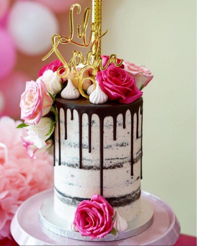 'Drip Cake' Jadi Pilihan Pengantin Masa Kini