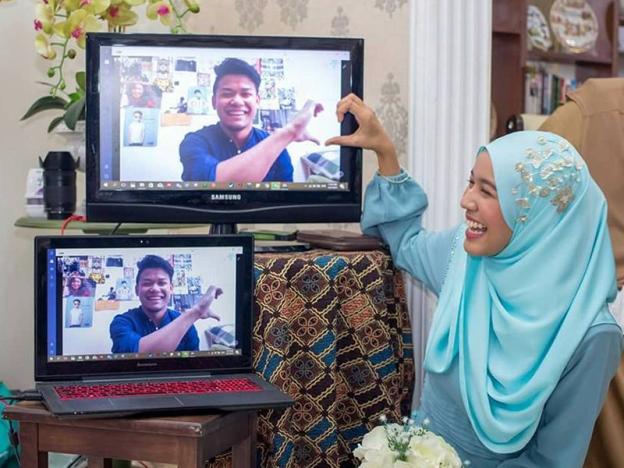 Jarak Bukan Penghalang Kongsi Majlis Pertunangan Dengan Keluarga