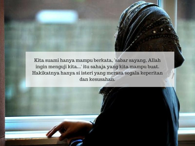 Bila Isteri Merajuk, Jangan Diherdik Atau Dimarah. Ambil Peduli & Rawatlah Hatinya!