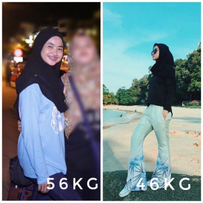 Gadis Ini Kongsi Tip Diet Rendah Kalori, Walaupun Makan Nasi Masih Boleh Turun Sehingga 10kg