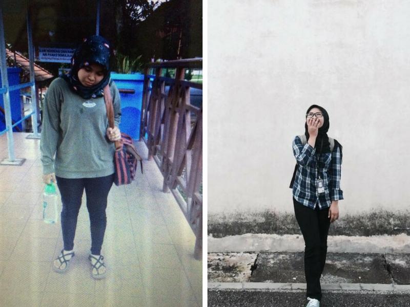 Nampak Mustahil Nak Turunkan Berat 16kg Dalam Sebulan, Namun Shaerah Buktikan Yang Dia Berjaya!