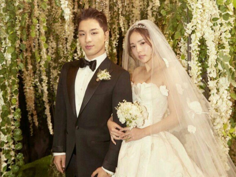 Indahnya Perkahwinan Berinspirasikan 'Twilight' Pilihan Pasangan Selebriti Popular Korea Selatan, Taeyang & Min Hyo Rin