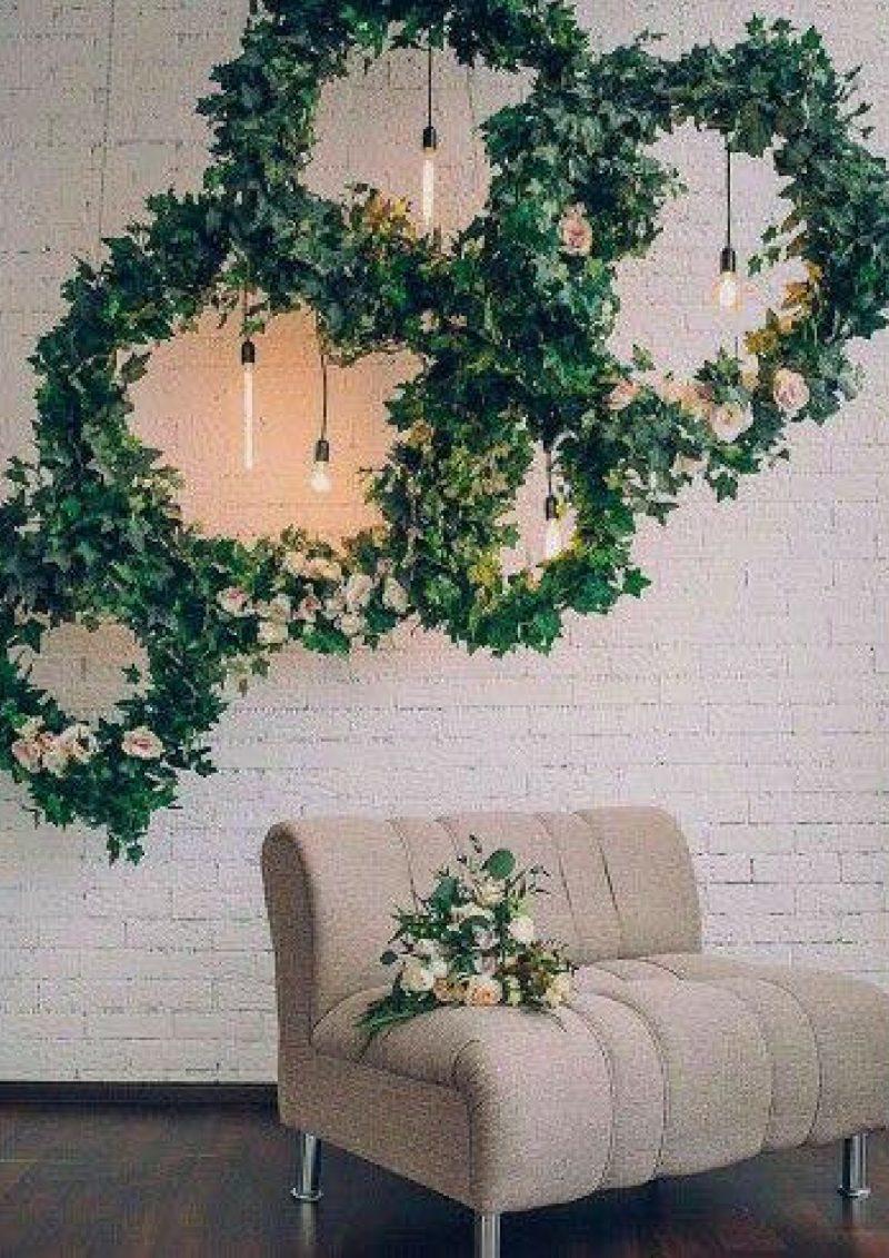 Gubahan Daun Berbentuk Arch Ini Memang Mudah Untuk Dilakukan Sendiri Dan Bajet Hanya Tambahkan Lilin Taburkan Dedaunan Atau Kelopak Bunga Kesan