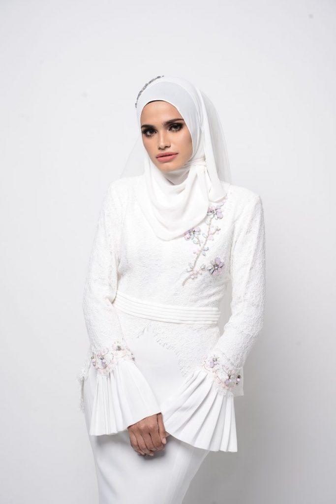 9 Idea Baju Kahwin Untuk Pengantin Berhijab, Wajib Tengok! - Pesona Pengantin