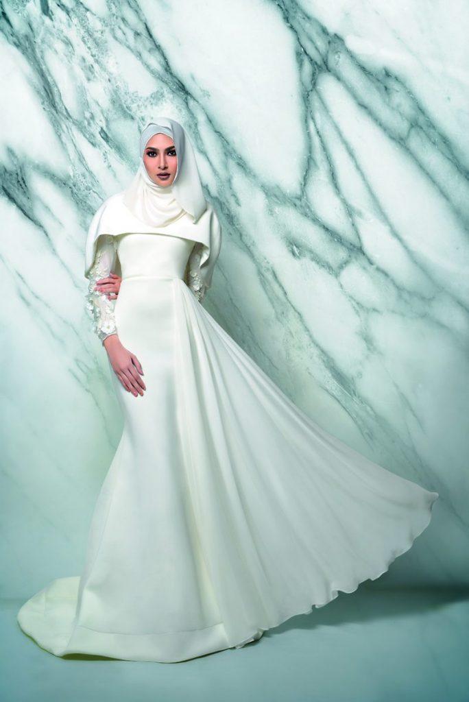 9 Idea Baju Kahwin Untuk Pengantin Berhijab, Wajib Tengok