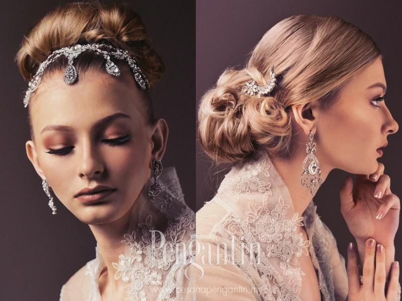 Ikut 6 Idea Dandanan Ini Jika Nak Rambut Pengantin Gorgeous Di Hari Perkahwinan, Wow Sangat!
