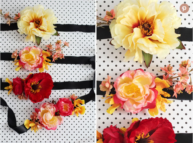 Bosan Dengan Korsaj Duit, Jom Buat Sendiri Korsaj Pergelangan Tangan Dari Bunga Sutera. Cantik Sangat!