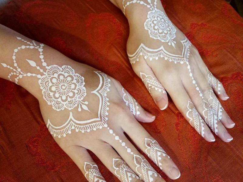 Gambar Henna Pengantin Cantik