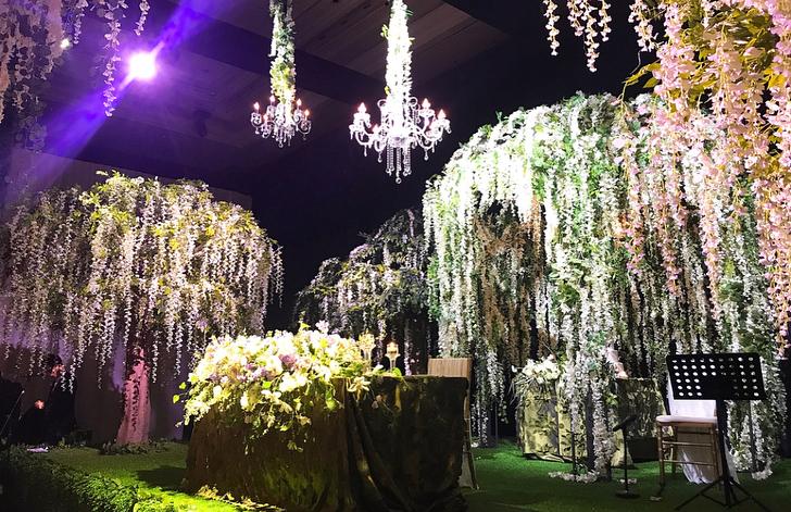 Ilham Dekorasi Gantung Meriahkan Majlis Kahwin