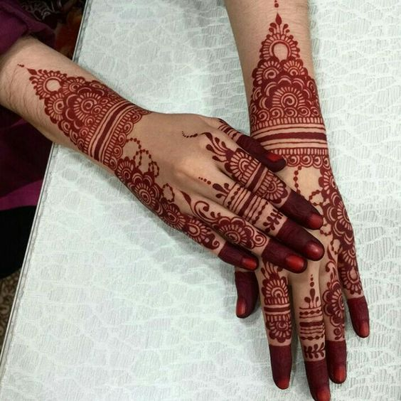 Corak Inai Yang Boleh Bakal Pengantin Pakai Untuk Majlis Kahwin