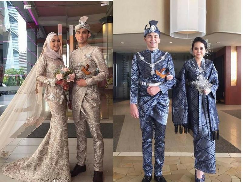 16 Inspirasi Baju Kahwin Songket Yang Confirm Anda Berkenan!