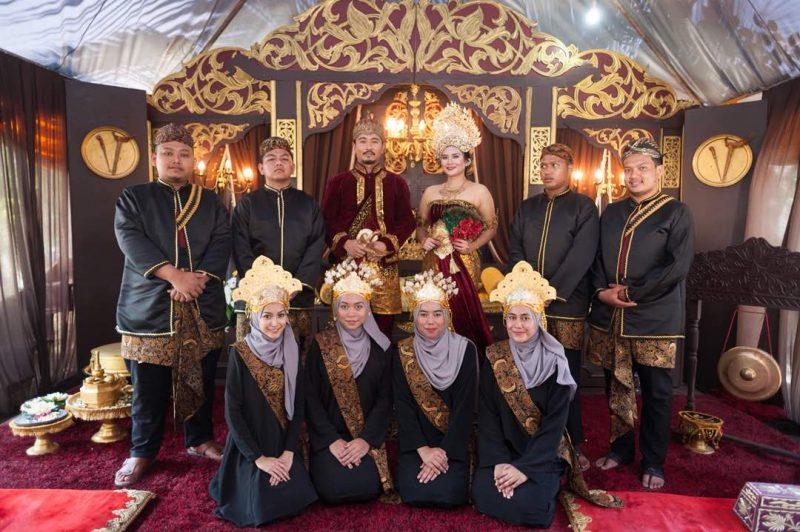 Majlis perkahwinan unik Majapahit/ Nusantara Kuno Tarik Perhatian Tetamu