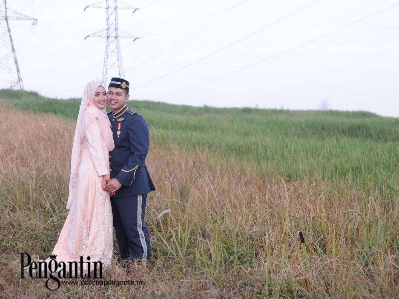Perkenalan Singkat Antara Syafiqah Dan Safuan Membawa Hingga Ke Gerbang Perkahwinan